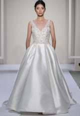 A-Line Wedding Dress by Dennis Basso - Image 1