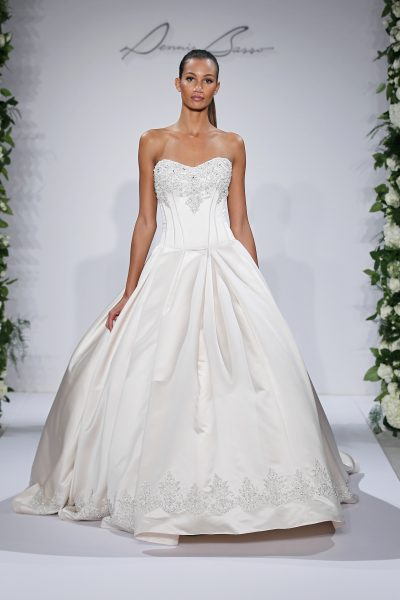 Ball Gown Wedding Dress by Dennis Basso - Image 1