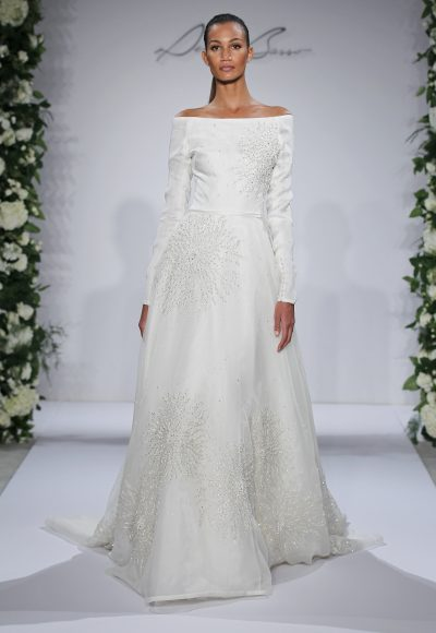 Dennis Basso A-Line Wedding Dress by Dennis Basso Couture