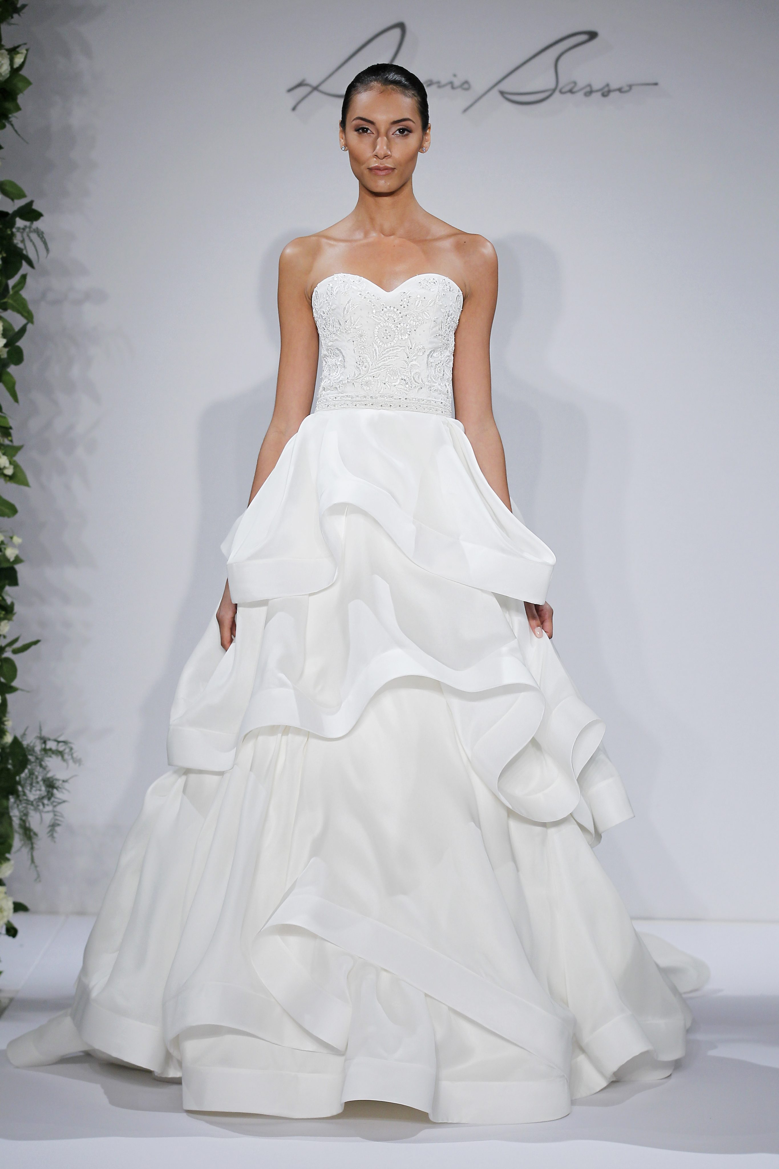 Dennis Basso Ball Gown Wedding Dress | Kleinfeld Bridal