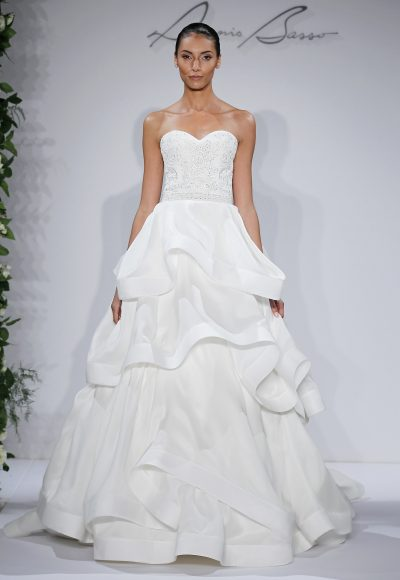 Dennis Basso Ball Gown Wedding Dress