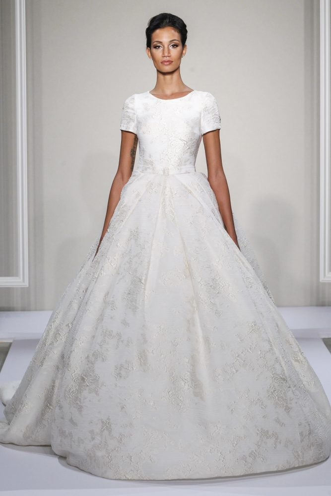Dennis Basso Ball Gown Wedding Dress - Image 1