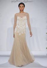 Dennis Basso Sheath Wedding Dress by Dennis Basso Couture - Image 1