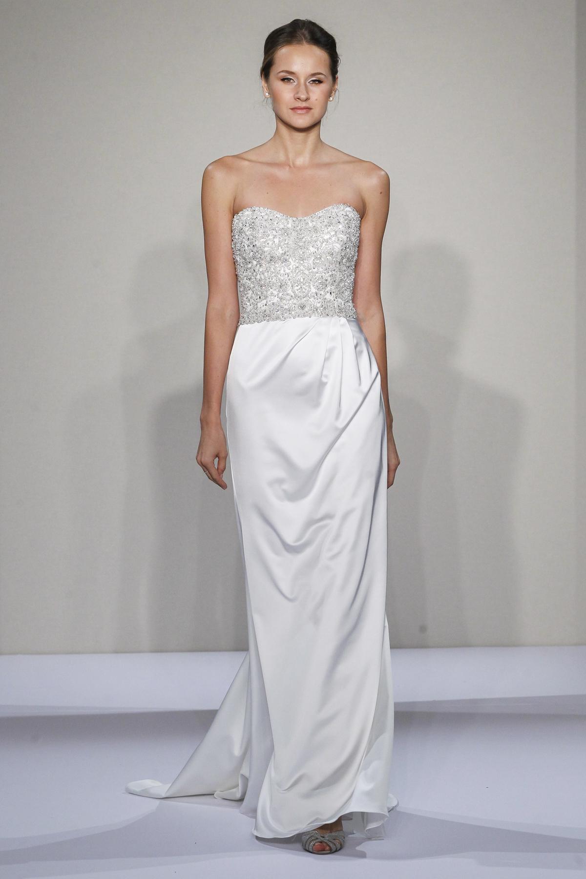 Sheath Wedding Dress | Kleinfeld Bridal