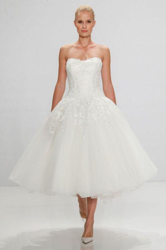 Tea Length Wedding Dress Kleinfeld Bridal