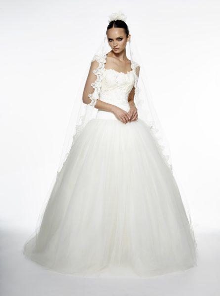 Ball Gown Wedding Dress by Edgardo Bonilla - Image 1