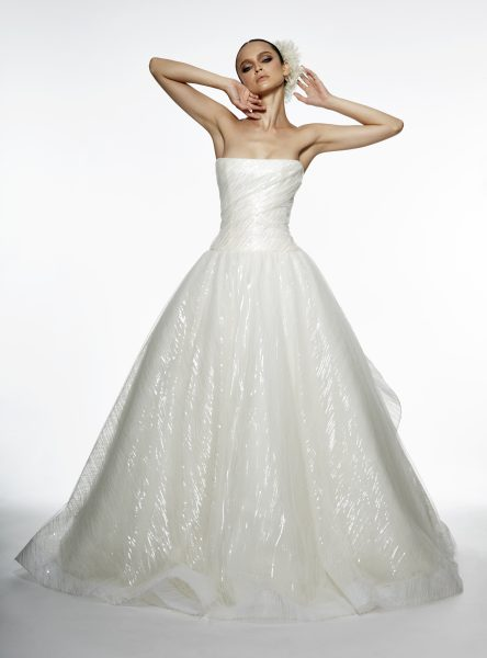 Ball Gown Wedding Dress by Edgardo Bonilla - Image 1