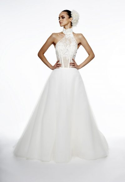 Ball Gown Wedding Dress by Edgardo Bonilla