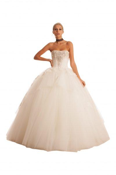 Fit And Flare Wedding Dress by Edgardo Bonilla - Image 1