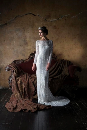 Sheath Wedding Dress by Eliza Jane Howell - Image 1