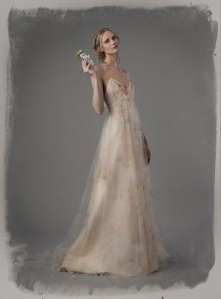 A-Line Wedding Dress by Elizabeth Fillmore - Image 1