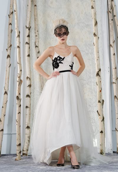 A-Line Wedding Dress by Elizabeth Fillmore