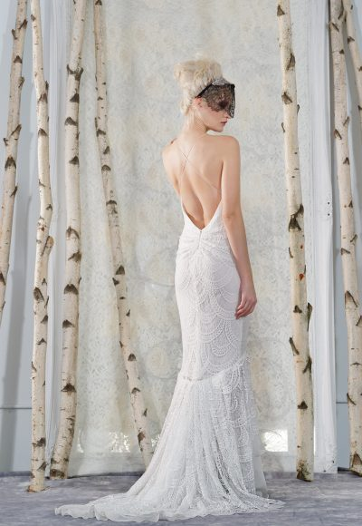 Fit And Flare Wedding Dress by Elizabeth Fillmore