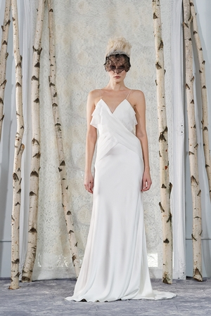 Sheath Wedding Dress by Elizabeth Fillmore - Image 1