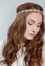 Daisy Bridal Wraparound Headpiece by Emmy London Shoes - Image 1