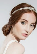 Teardrop Bridal Wraparound Halo by Emmy London Shoes - Image 1