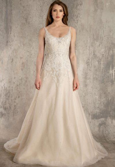 Style 113140xs A Line Wedding Dress By Enaura Bridal