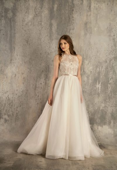 A-Line Wedding Dress by Enaura Bridal