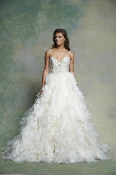 Ball Gown Wedding Dress by Enaura Bridal - Image 1