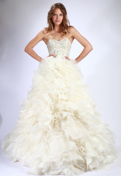 Couture A-Line Wedding Dress by Enaura Bridal