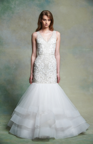 Couture Mermaid Wedding Dress by Enaura Bridal - Image 1
