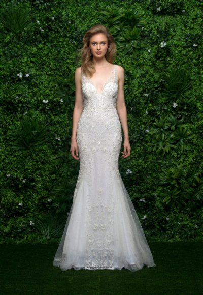Fit And Flare Wedding Dress Kleinfeld Bridal