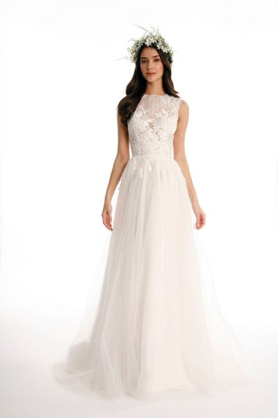 A-Line Wedding Dress by Eugenia Couture - Image 1