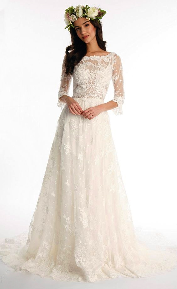 A line wedding dress kleinfeld bridal a line wedding dress by eugenia couture image 1 zoomed in junglespirit Images