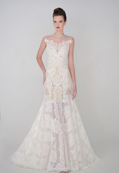 Fit And Flare Wedding Dress by Eugenia Couture