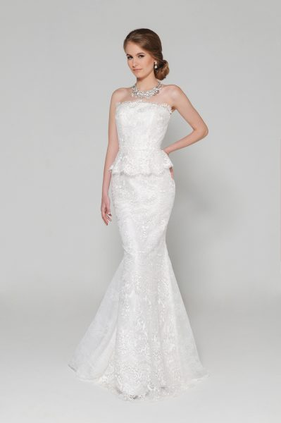 Mermaid Wedding Dress - Image 1
