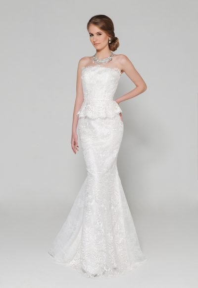 Mermaid Wedding Dress by Eugenia Couture