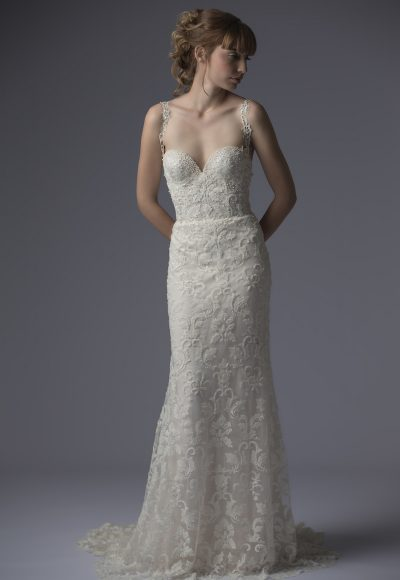 Fit And Flare Wedding Dress by Francesca Miranda