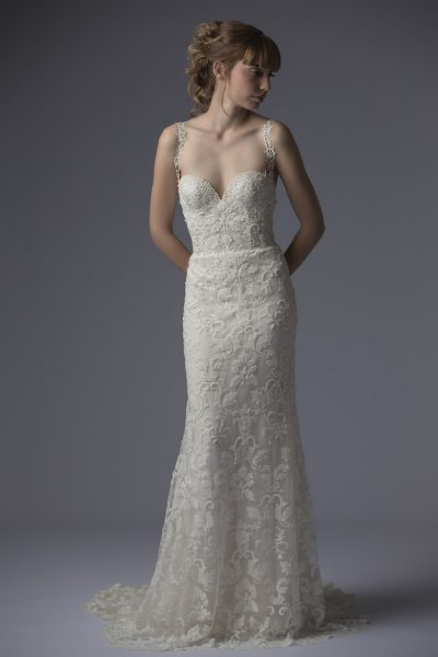 Fit And Flare Wedding Dress by Francesca Miranda - Image 1