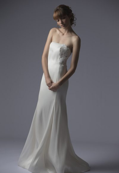 Sheath Wedding Dress by Francesca Miranda