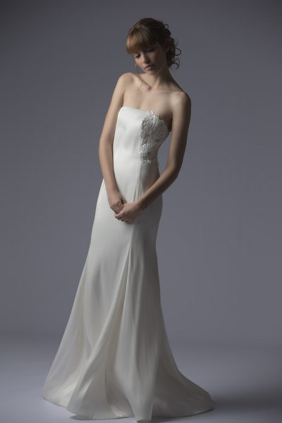 Sheath Wedding Dress by Francesca Miranda - Image 1