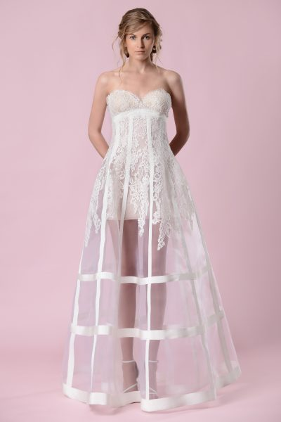 A-Line Wedding Dress by Gemy Maalouf - Image 1