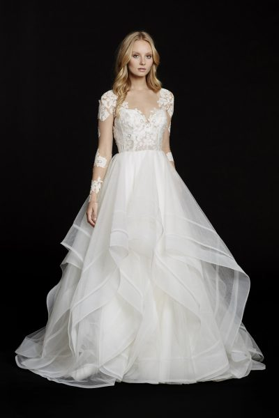 Classic Ball Gown Wedding Dress by Hayley Paige - Image 1