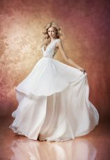 Modern A-line Wedding Dress by Hayley Paige - Image 1