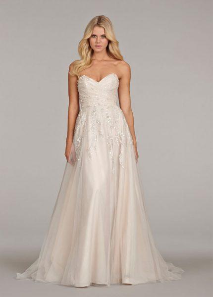 Sheath Wedding Dress by Hayley Paige - Image 1