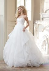 Simple Ball Gown Wedding Dress by Hayley Paige - Image 1