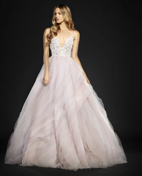 Trendy Ball Gown Wedding Dress by Hayley Paige - Image 1