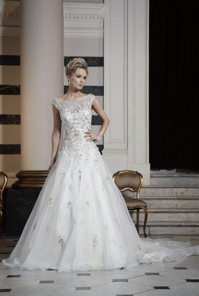 Ball Gown Wedding Dress by Ian Stuart - Image 1