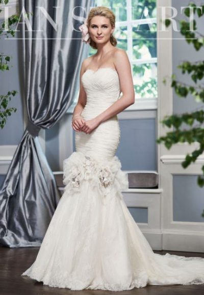 Mermaid Wedding Dress by Ian Stuart