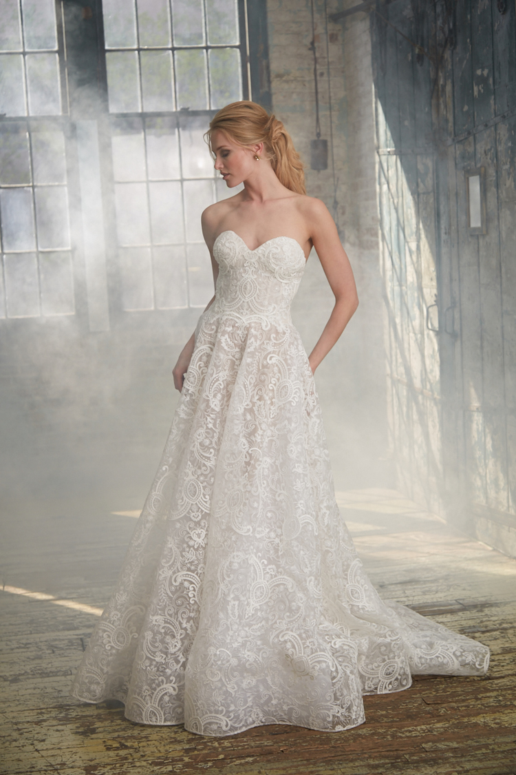 Isabelle Armstrong Style #SAMM MODERN BALL GOWN WEDDING DRESS