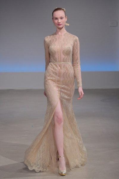 Modern Mermaid Wedding Dress by Isabelle Armstrong - Image 1