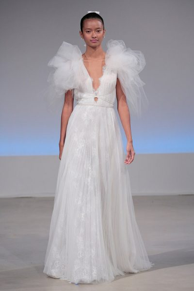 Romantic A-line Wedding Dress by Isabelle Armstrong - Image 1