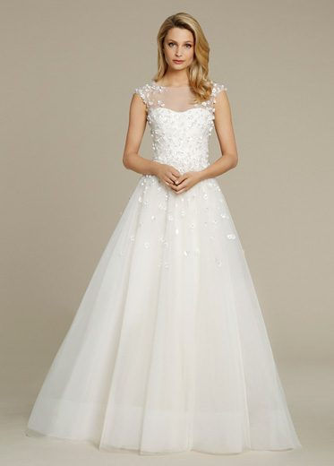 Ball Gown Wedding Dress By Jim Hjelm Image 1