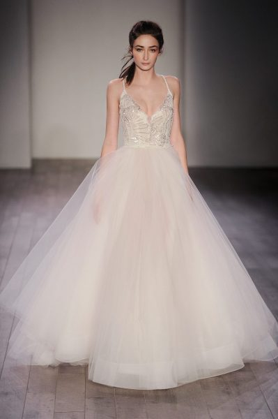 Ball Gown Wedding Dress by Jim Hjelm - Image 1