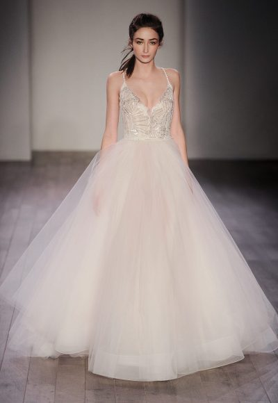 Ball Gown Wedding Dress by Jim Hjelm