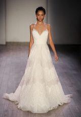 Classic A-line Wedding Dress by Jim Hjelm - Image 1